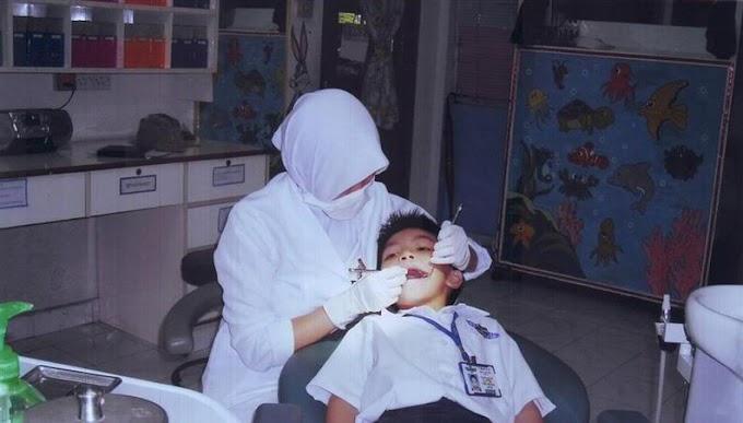 Bila Dr gigi datang sekolah