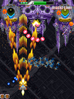 Fever SOS arcade videojuego portable descargar gratis bullet hell shoot'em up