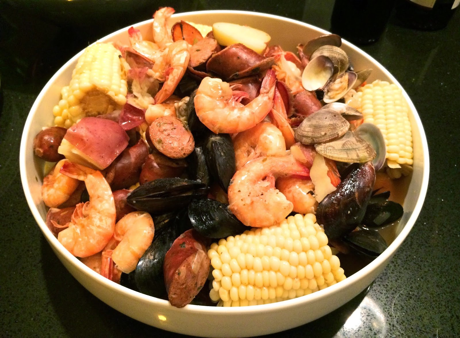A new orleans style seafood boil with shrimp clams mussels and a new orleans style seafood boil with shrimp clams mussels and lobster forumfinder Image collections
