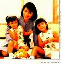 Marissa Haque & Ikang Fawzi: icha dengan 2 anak bella & kiki
