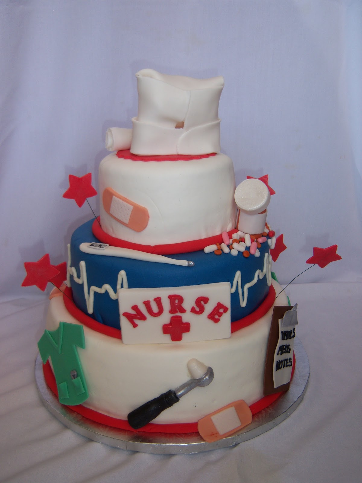 Creative Cakes By Angela Graduation From Nursing School