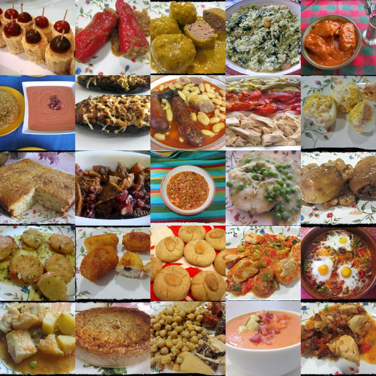 El Puchero de Morguix-ÍNDICES: Cocina española