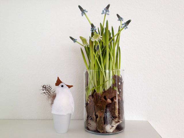schaeresteipapier ostern narzissen im glas. Black Bedroom Furniture Sets. Home Design Ideas