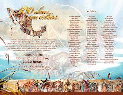 Invitación 100 años de los judios en México
