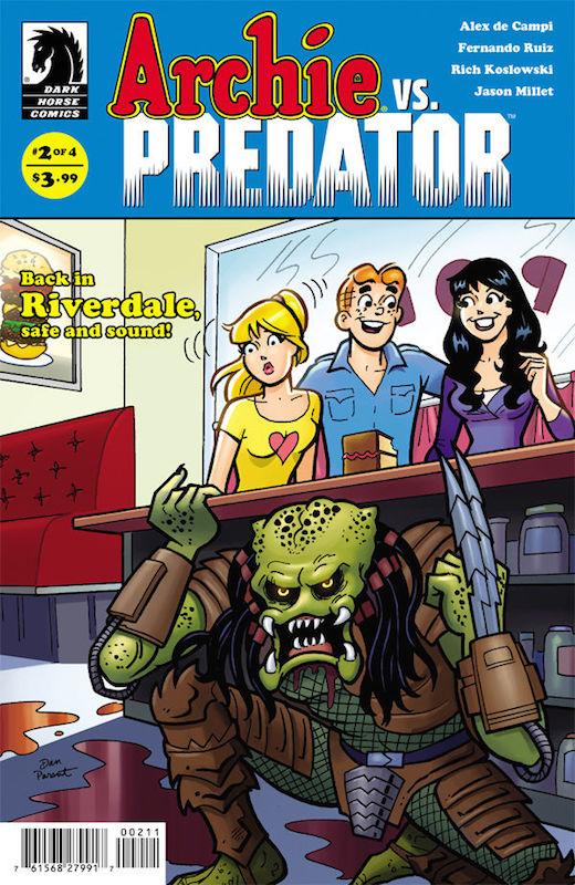 Archie vs. Predator #2 by Alex de Campi, Fernando Ruiz, Robert Hack, Stephen Downer, Rich Koslowski, Jason Millet, John Workman