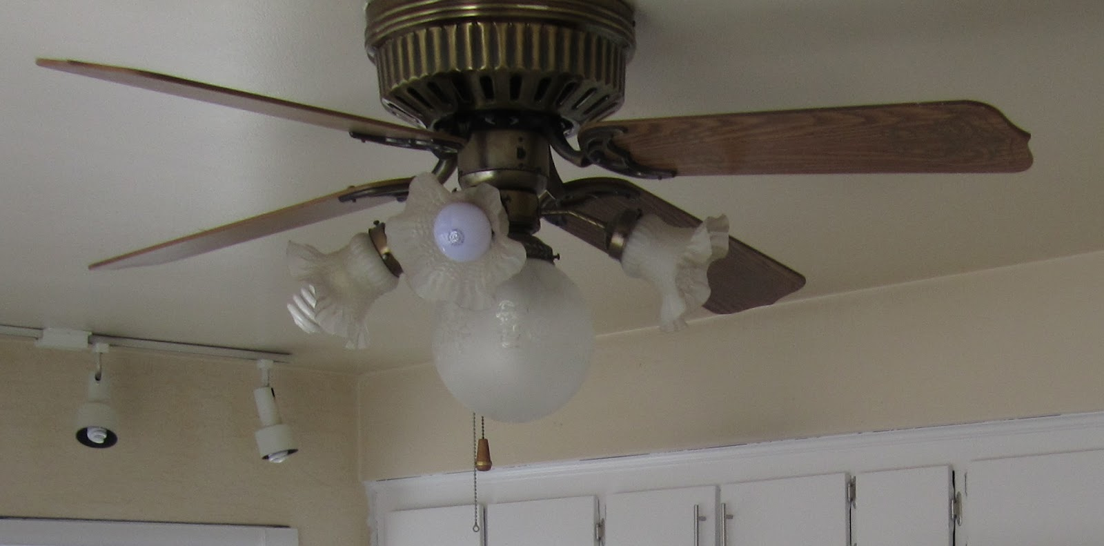 Kitchen Ceiling Fan Renovating The Flick House Kitchen Ceiling Fan Update And A New