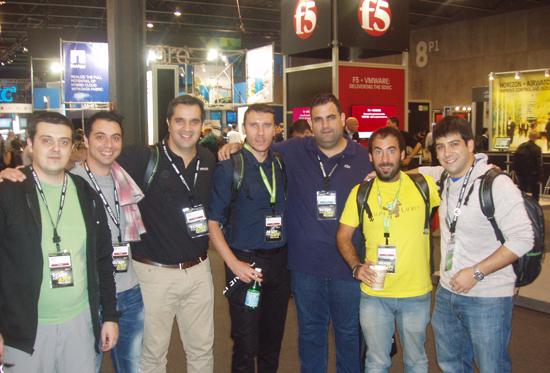 VMWorld 2015 Barcelona foto grupo