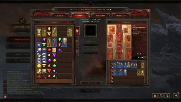 Itens mais raros no Diablo 3 são mais caros
