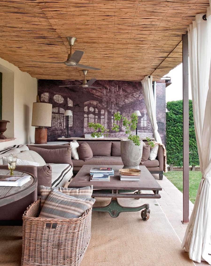 Casas americanas porches terrazas - Casas con terrazas ...