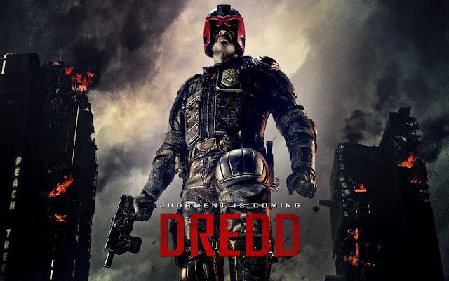 Dredd 3D PowerPoint background 01