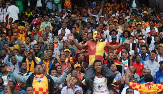 Saint George Football Club Fans Ethiopia