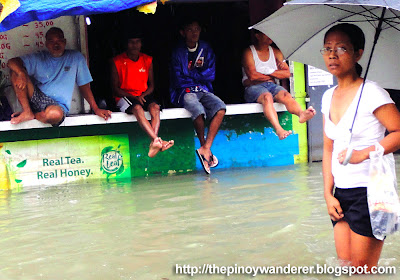 Monsoon Flood in Pinagbuhatan, Pasig City ~ August 2012