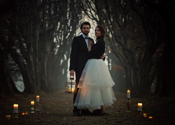 Złoty jako kolor przewodni ślubu i wesela