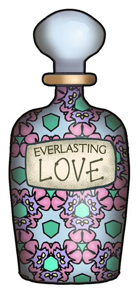 ArtbyJean - Bottles: Perfume Bottles with Everlasting Love ...