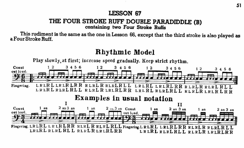 The Myth Of Rudiments On Drum Set