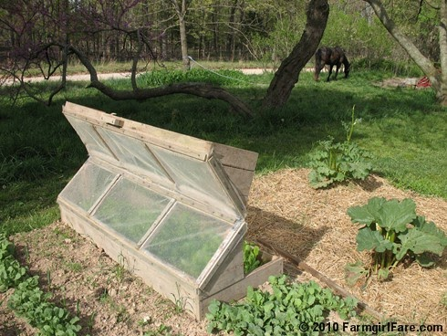 in my kitchen garden do it yourself kitchen garden inspiration build an amish cold frame. Black Bedroom Furniture Sets. Home Design Ideas