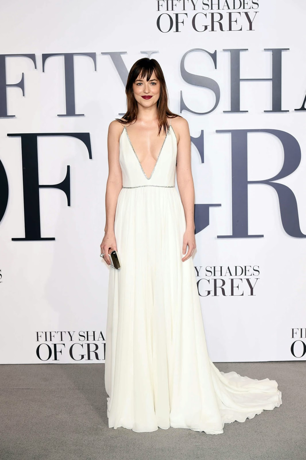 "Dakota Johnson – ""Fifty Shades Of Grey"" Premiere in London"