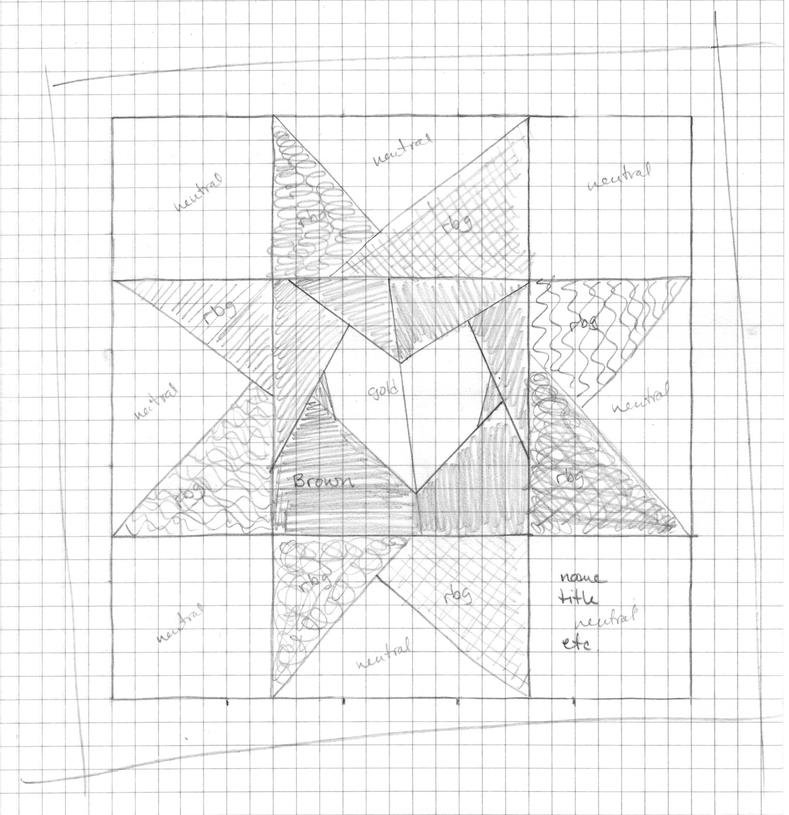 cut u0026 39 n it up    and sewing it back together   my monday design graph paper