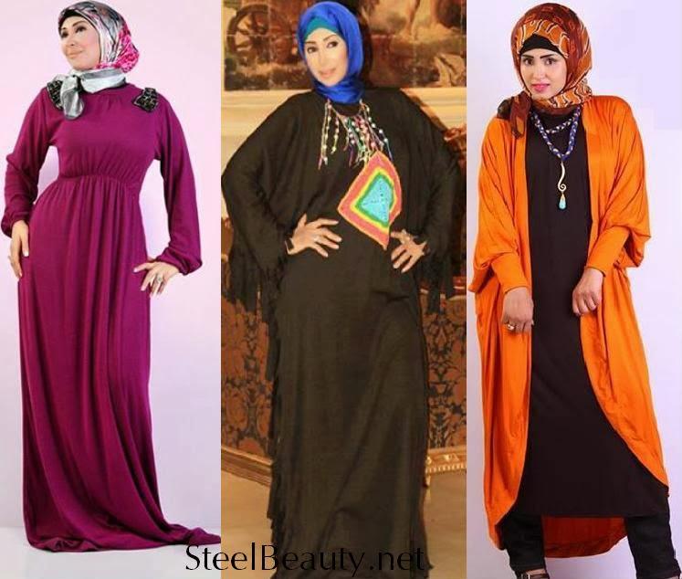 أزياء شاهيناز شتاء 2018 من ملابس شاهدان للمحجبات   اجمل ازياء المحجبات