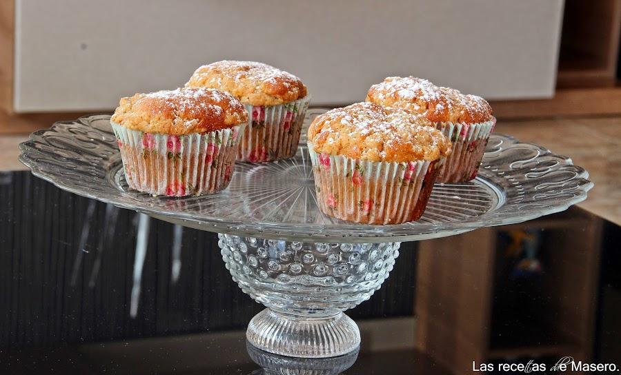 Mini crumb cakes: como si comieras a la vez unas magdalenas y unas galletas. ¡Descúbrelo!