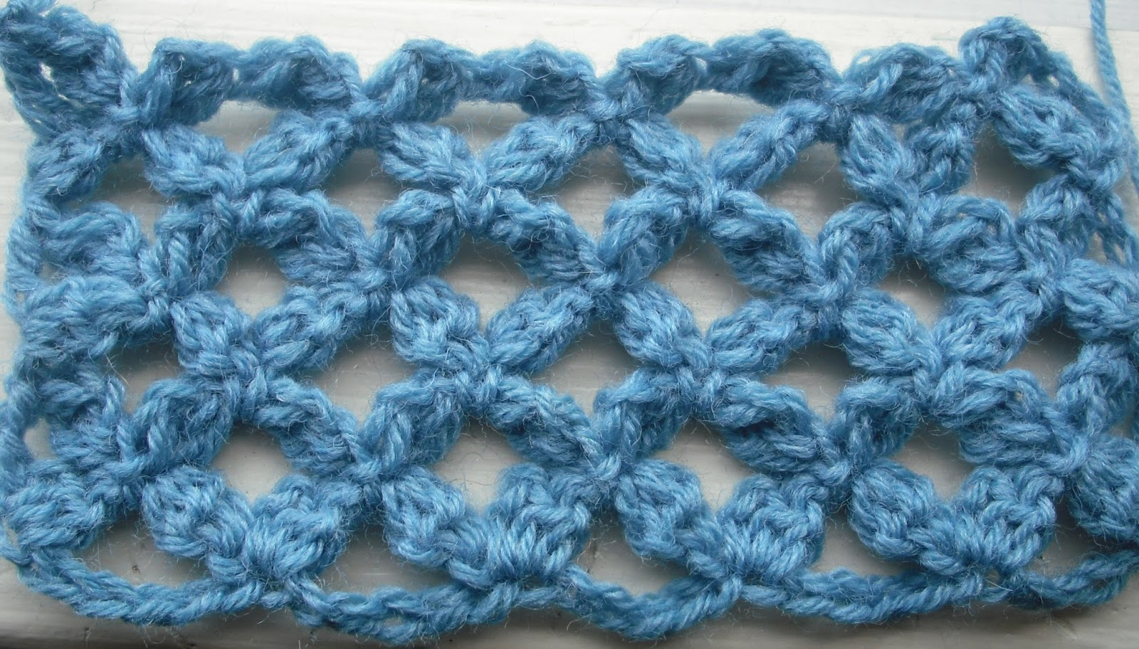 Crocheting Clusters : Purple Chair Crochet: The Petal Cluster Stitch (Inspiration)