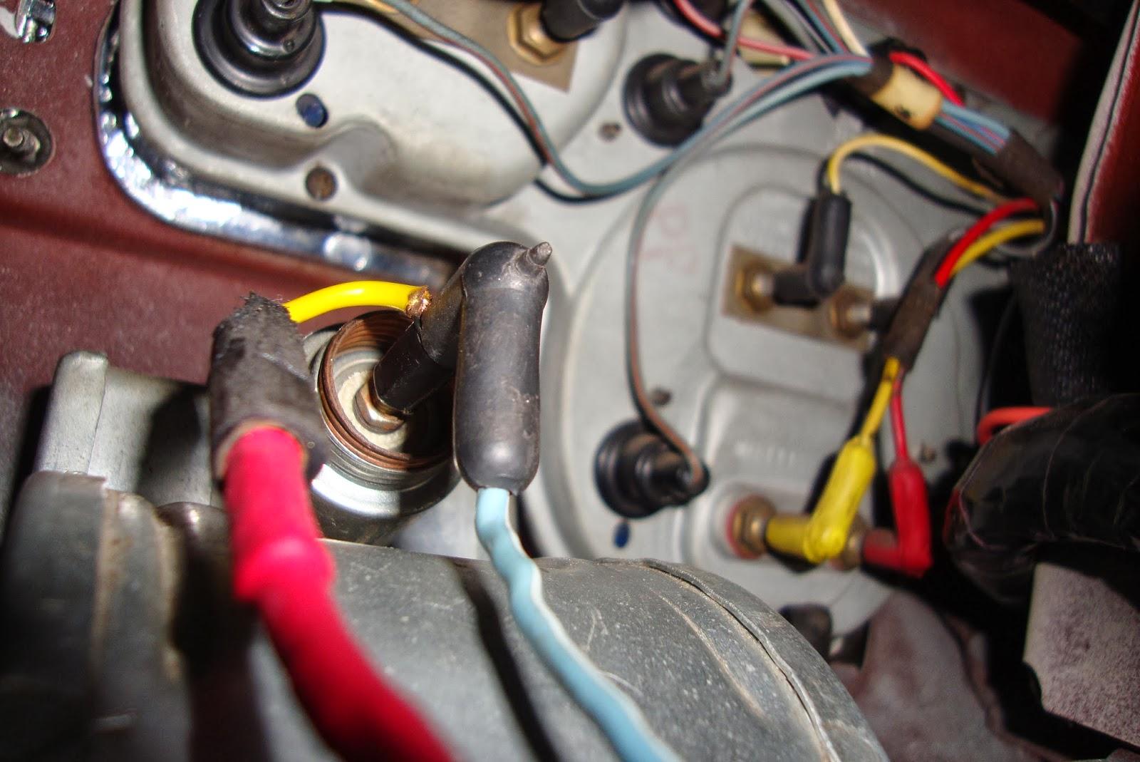 1968 mustang convertible restoration a retro sounding retro mod rh 68vert blogspot com Cigarette Lighter Wiring Harness Cigarette Lighter Socket Wiring