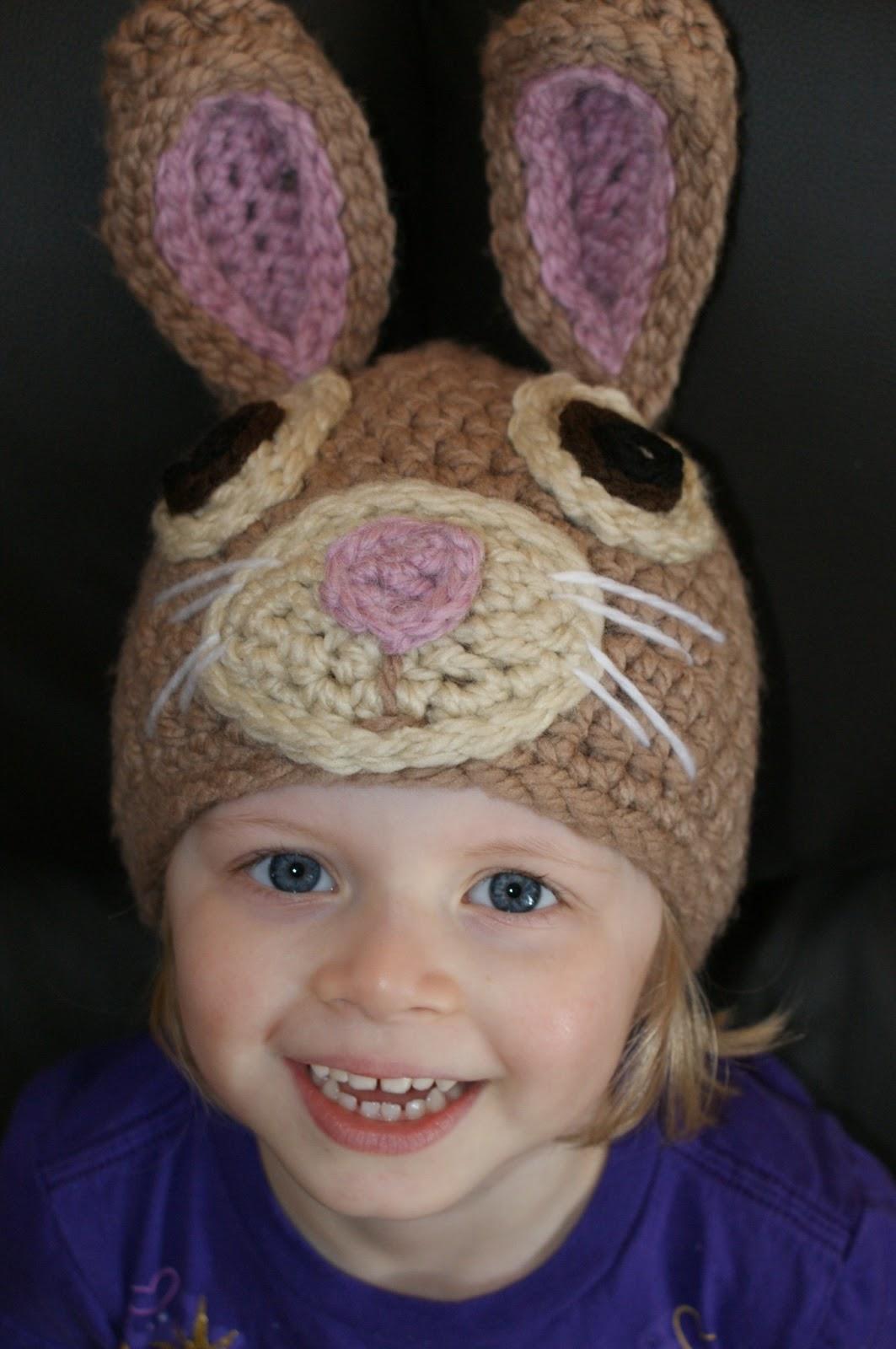 Free Crochet Patterns Bunny Hat : Darlas Bunny Hat Oombawka Design Crochet
