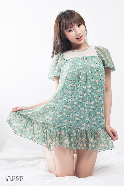 3 Yeon Da Bin on Bed-Very cute asian girl - girlcute4u.blogspot.com