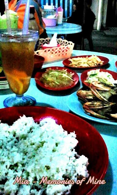 Ikan Bakar di Restoran Pak Din