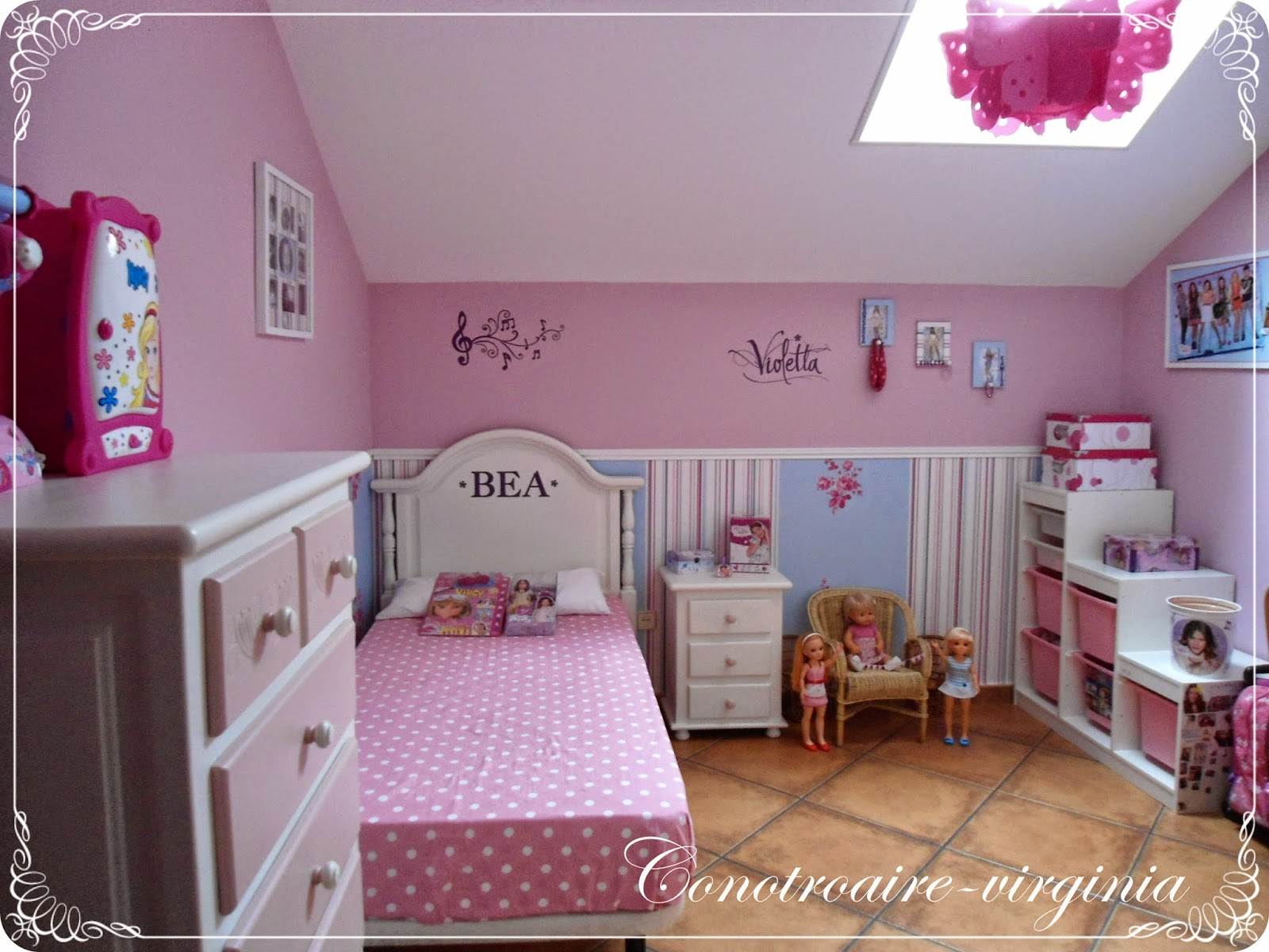Con otro aire la habitaci n de mi peque con un toque - Cosas para decorar la habitacion ...