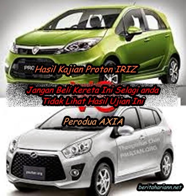 Proton IRIZ Dan Perodua AXIA Berita Harian Sinar Harian Harian
