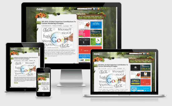 From 4-Inch Phones to 40-Inch TVs: Designing Responsive Websites