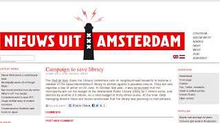 News from Amsterdam