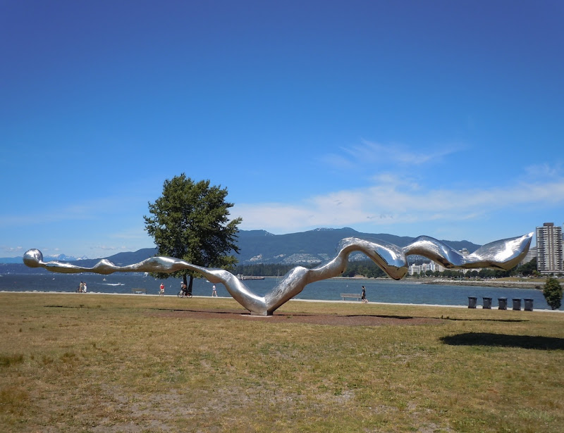 Freezing Water sculpture Vancouver