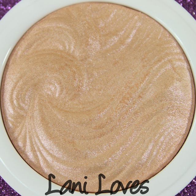 MUA Undress Your Skin Shimmer Highlighter - Pink Shimmer Swatches & Review