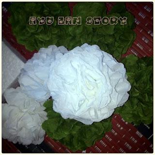 tutorial bunga crepe mudah dan murah