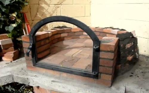 Jardin decora construir un horno de le a - Construir un horno de lena ...