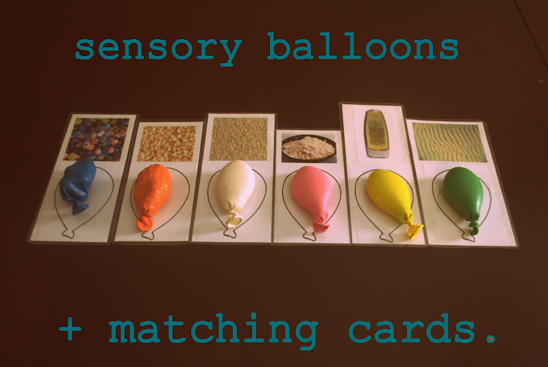 senses activities for preschoolers i thought of it second balloon sensory matching 5