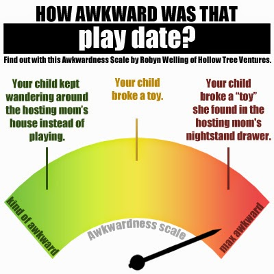 How awkwardness was that play date by Robyn Welling @RobynHTV