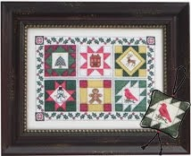 BRD-117 Quilt Block Christmas
