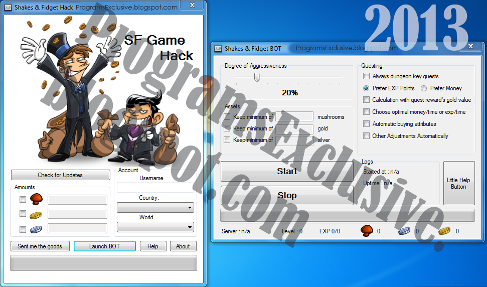 shakes and fidget hack game trainer shakes and fidget hack sfgame hack
