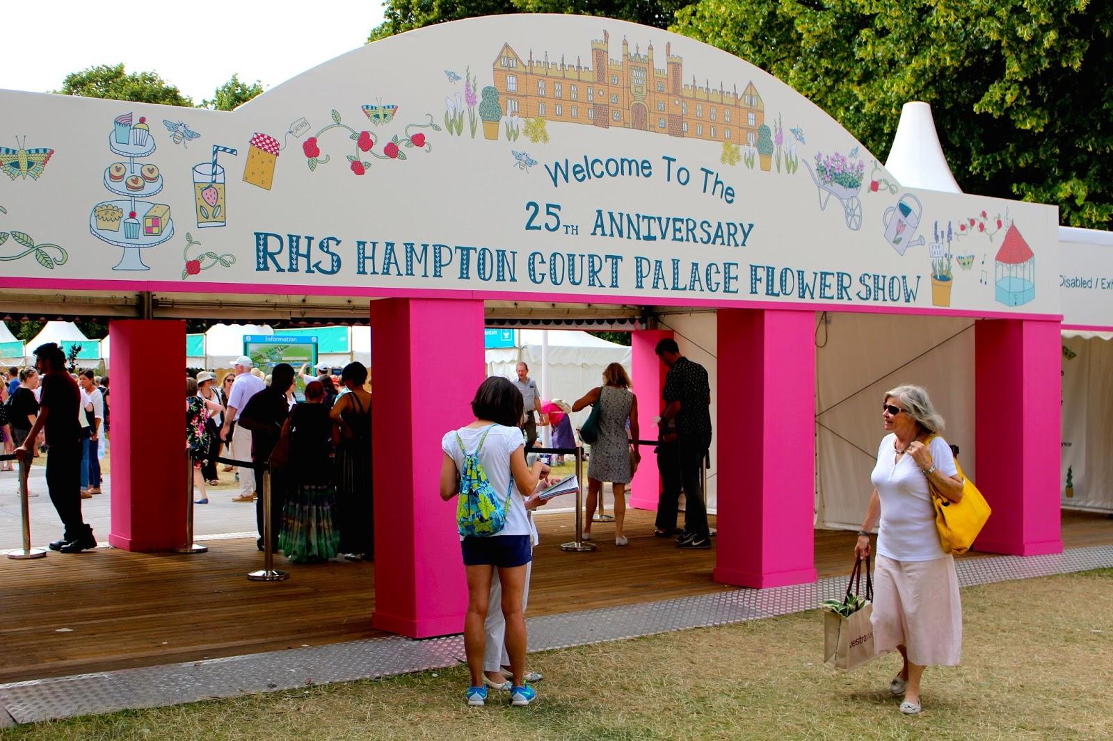 Hampton Court Palace Flower Show 2015 blog