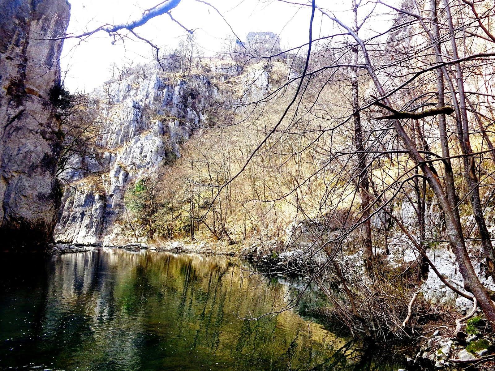 11 aprile 2015 - in visita al parco regionale delle grotte di San Canziano con il Cai di Chivasso