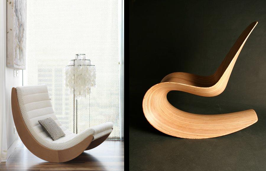 La fabrique d co rocking chair un fauteuil bascule - Fauteuil rocking chair design ...