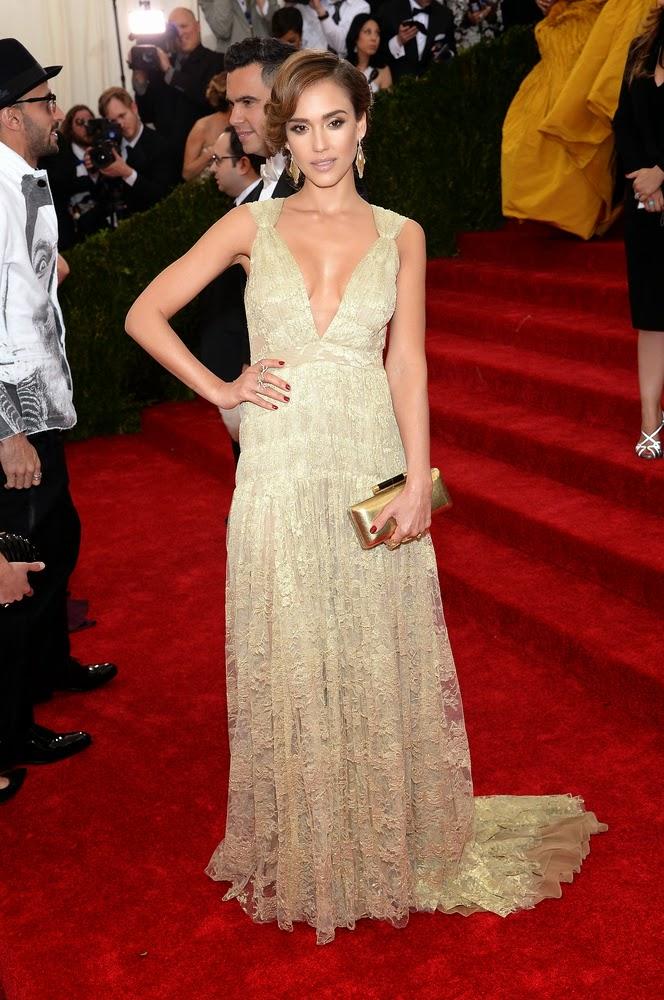Jessica Alba, Met Gala 2014 Red Carpet