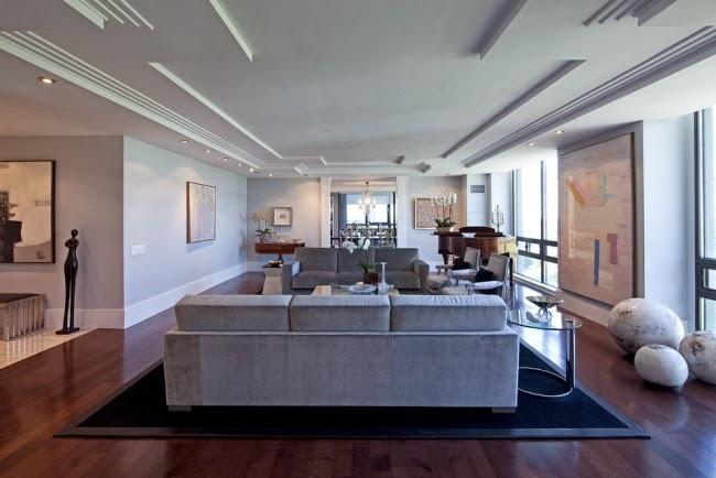 Salas con techos modernos salas con estilo - Techos modernos ...