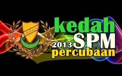 Koleksi Soalan Percubaan SPM 2013 Kedah
