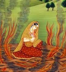 Sita's agnipariksha with a Twist,Ramayan,infidelity