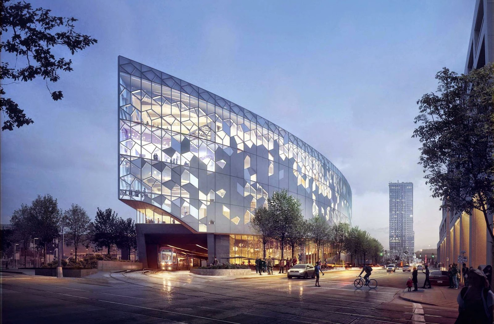 Calgary S New Central Library Visualizations By Mir