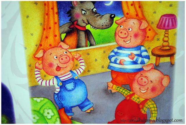 Trzy małe świnki Olesiejuk